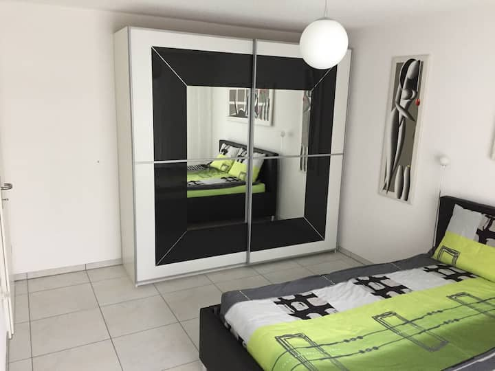 Furnished room with separate bathroom in community