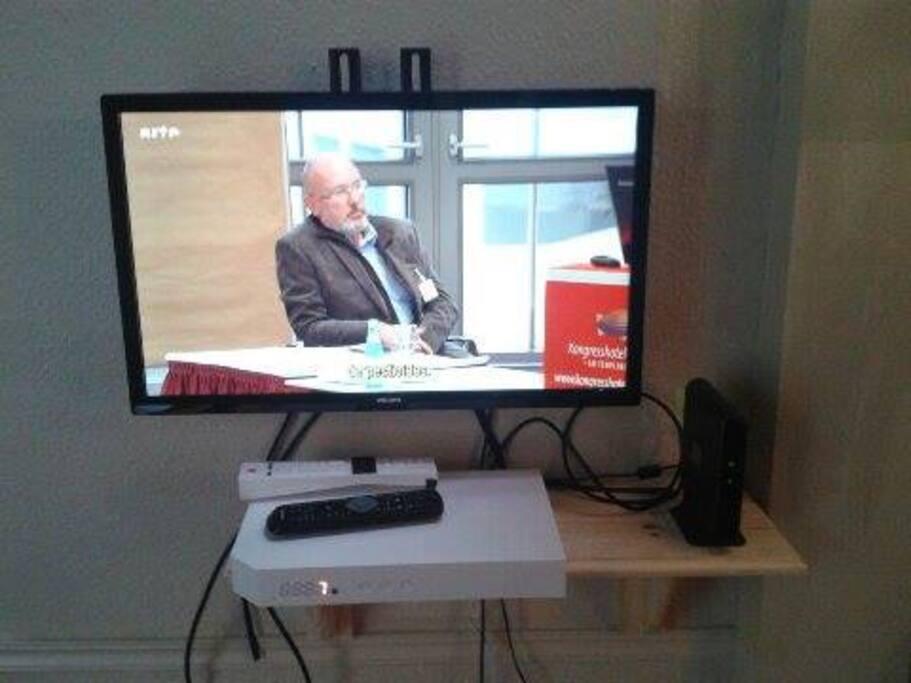 télévision à disposition