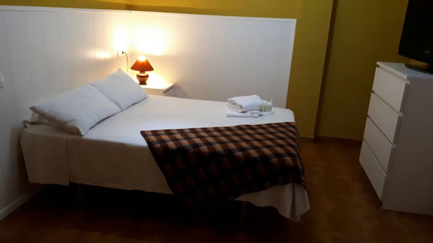 Double room wifi 10minutes technology park airport
