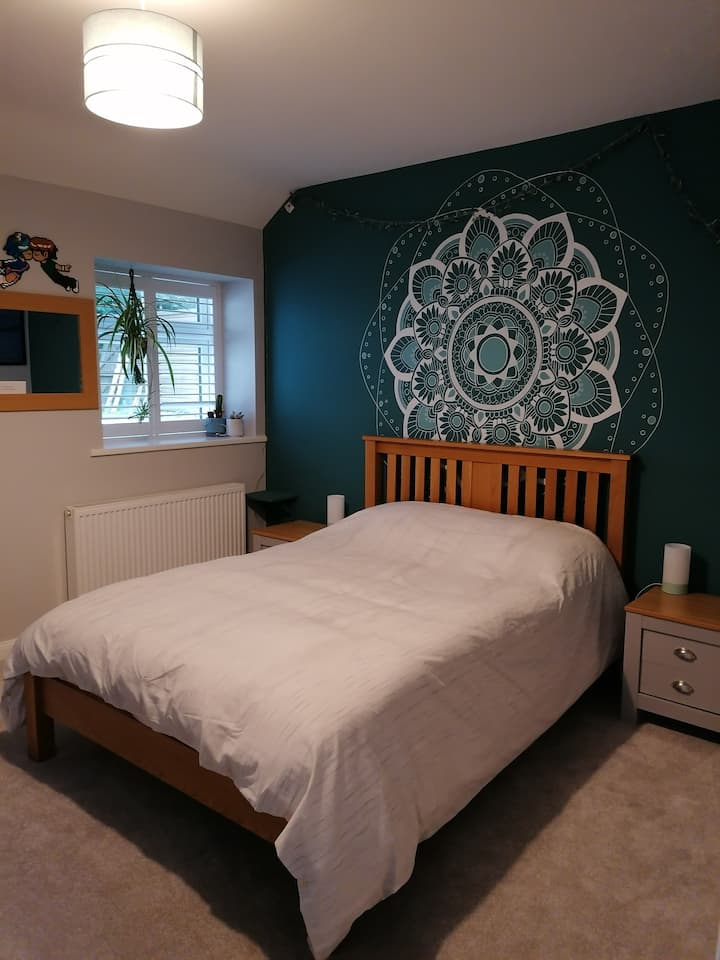 Double room in a quiet, peaceful location.
