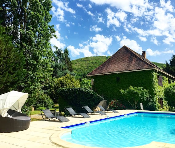 Dordogne, 6 bedroom, pool and sauna - Saint-Cyprien - Ev