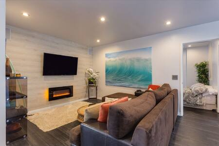 Modern Beach Condo Steps to Beach - Manhattan Beach