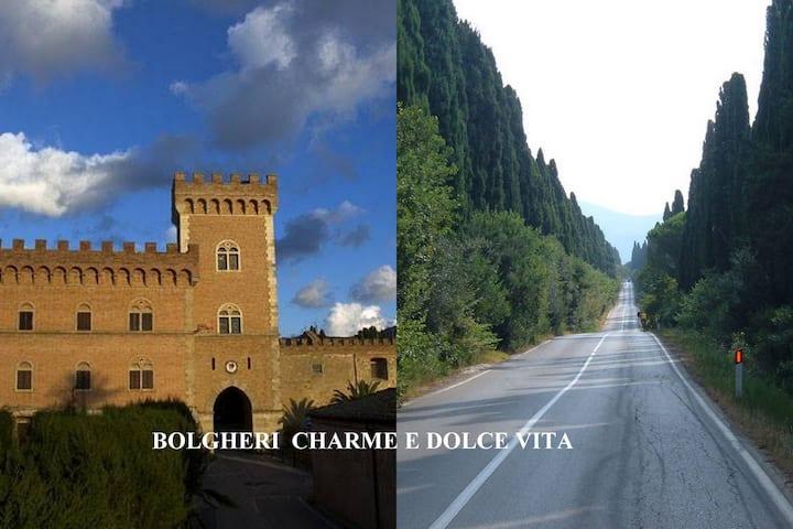 Bolgheri  charme and dolce vita