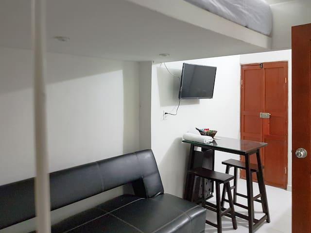 A6A2-Habitacion priv.cocina, centro, aire wifi
