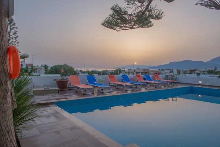 Houmeli Levanta Maisonete Shared Pool amazing view