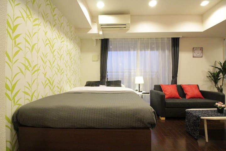 ★Shinjuku★ Spacious&Cozy Room 3mins to sta!Okubo - Shinjuku-ku - Byt