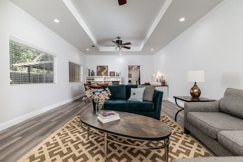 Large and Private Stylish Downtown Apartment