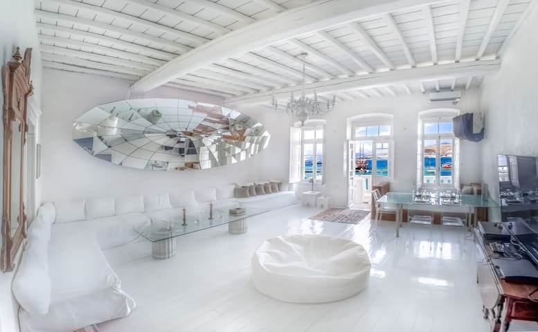 The Loft Mykonos daily serviced hotel alternative