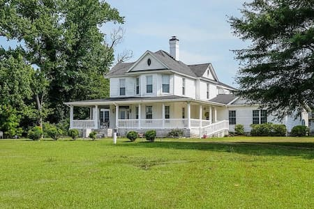Historic home on 30 acres minutes from lake Gaston