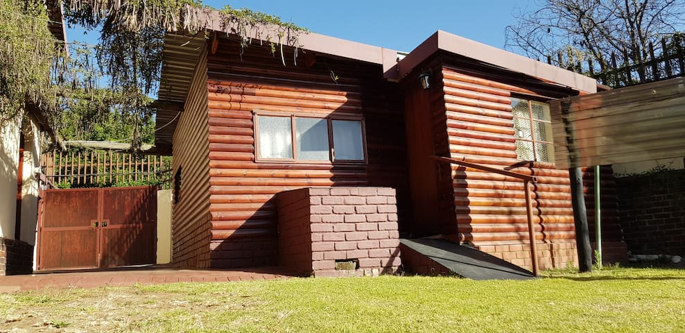 Sandton Accommodation Log Cabin