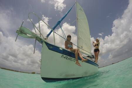 Beautiful boat , amazing sunrises, best locations - Bacalar - Kapal