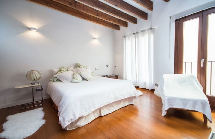 Luxury Loft with terrace in old town Palma city - Palma - Loft