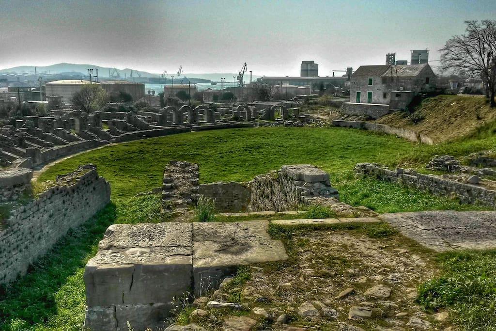 Ancient Salona city