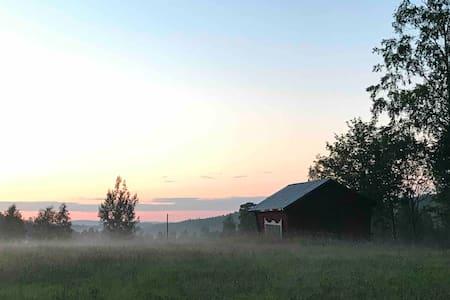 30-talshus i Hällbo i fina Utomherten, Bollnäs