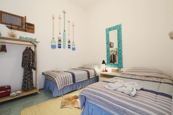 Wabisabi Jogja - Twin Bed with Garden View