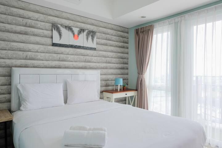 Elegant & Cozy 1BR Apt at Bintaro Plaza Residence