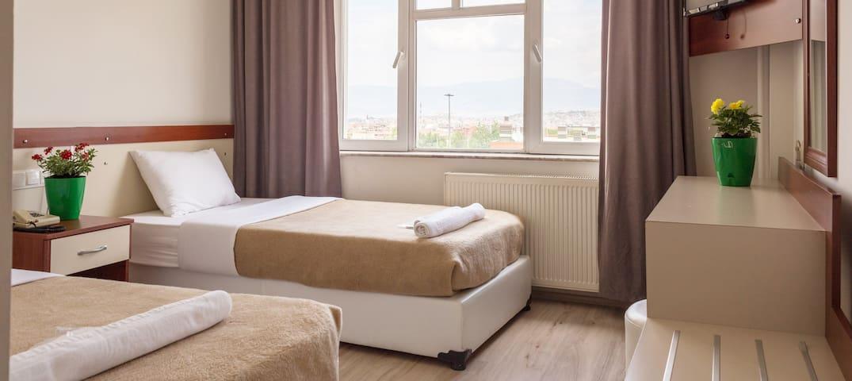 Twin Room @ Yildirim Hotel Denizli - Denizli