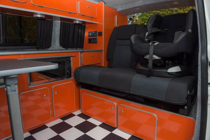 Chippa VW Camper van