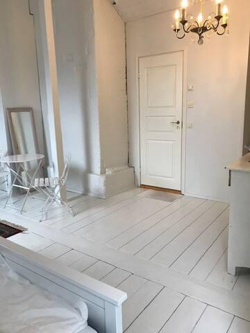 A view of 'bathroom door'