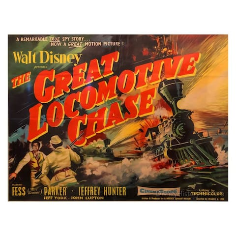 """The Great Locomotive Chase"" Movie Premier!"