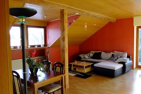 Sehr schön gelegene ruhige Wohnung in Bedburg Hau - Bedburg-Hau - Lakás