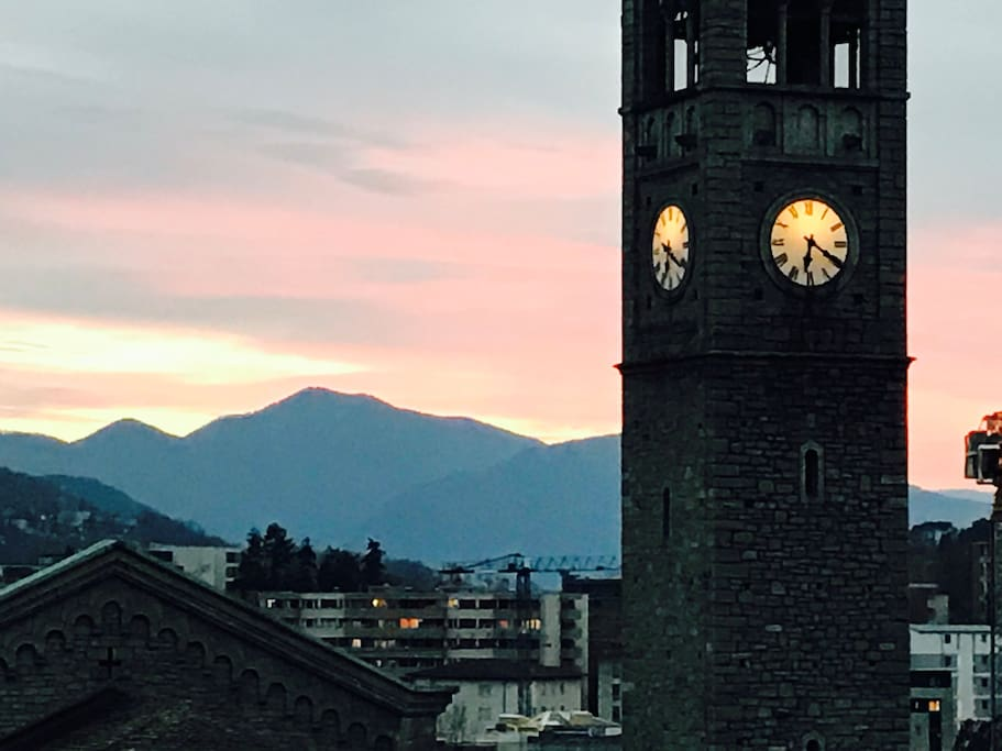 Vista dal balcone - View from the terrace