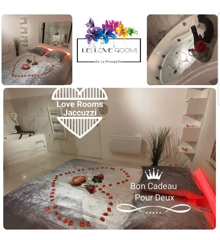 Love Rooms avec jacuzzi privé