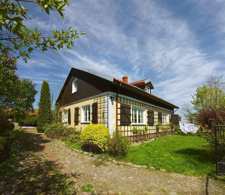 villa regl wka h user zur miete in m och w polen. Black Bedroom Furniture Sets. Home Design Ideas