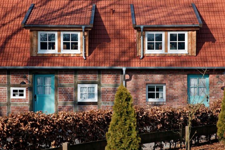 "Hochwertige Ferienwohnung ""Grüne Tara"", Dötlingen - Dötlingen - Apartamento"