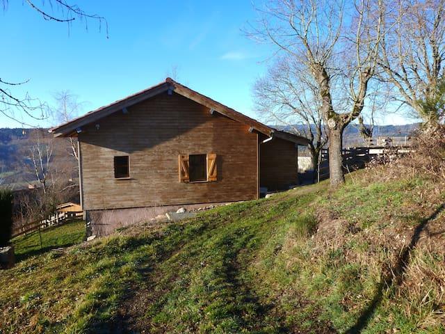 la maison d'être - Saint-Just-en-Chevalet - Natur lodge