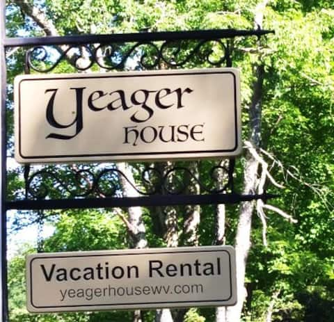 YEAGER HOUSE - On a Civil War Battlefield