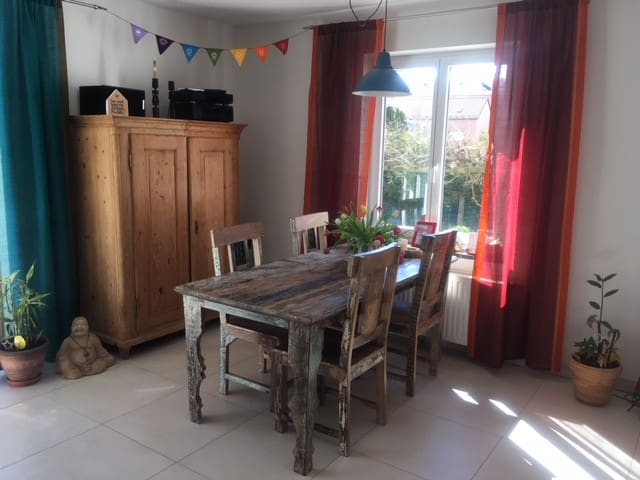 Apartment with 2 Beds + Garden: cosy + quiet