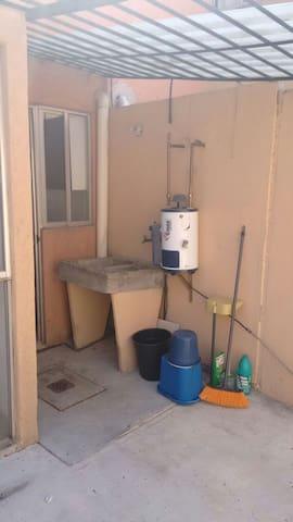 Casa Amueblada Renta por Mes Zona Aeropuerto - San Nicolás Tolentino - Rumah