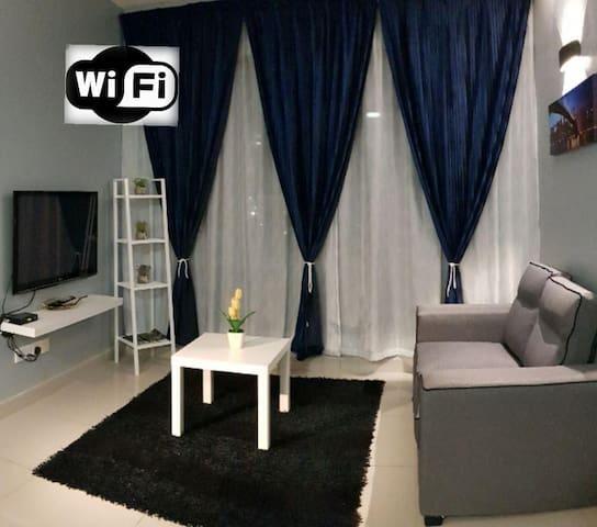 SF Rest House@same level with POOL,GYM,SAUNA,WIFI✔
