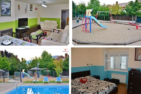 Lovely 4-bedroom house in the north of Madrid