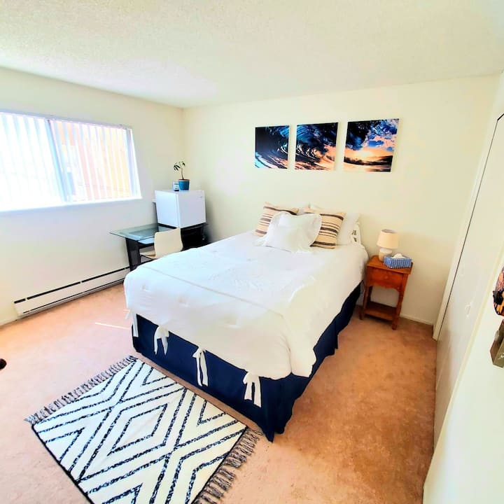NEW! 1 Bedroom Apartment .5 mile Away from Beach