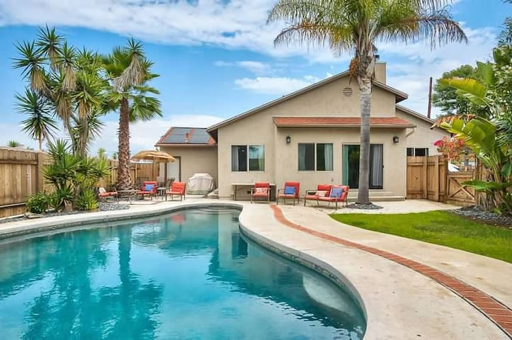 🏖4BR House with Pool-EXTRA CLEANING PRECAUTIONS!!