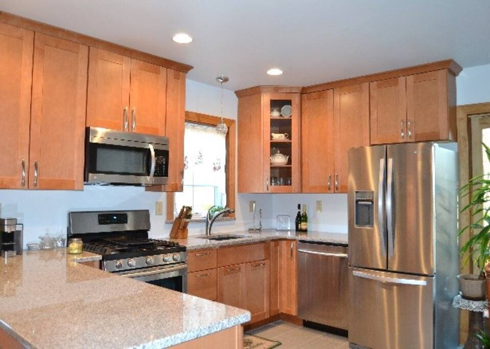 fully equipment modern kitchen
