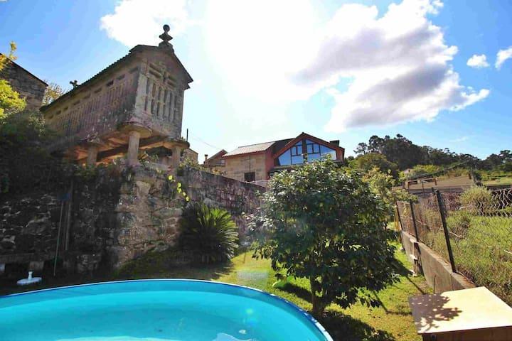 Stone house in Rías Baixas