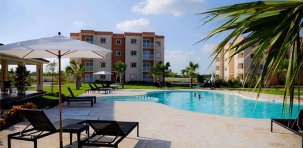 Serena Village,Pta Cana,Veron,Apto 2 room,5 prs. - Punta Cana - Appartement