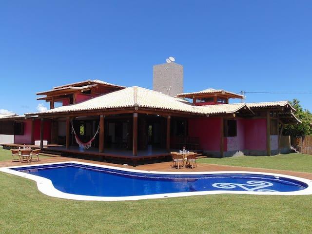 Bahia House 4bed en-suite Jacuzzi close to beach - Lauro de Freitas - Hus