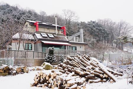 Like a Warm Home,즐거움과 휴식이있는 원주 전원주택 - Panbu-myeon, Weonju