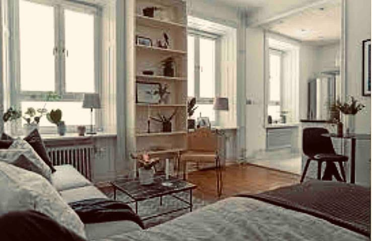 Charmy 1800's studio apartment in the city centre