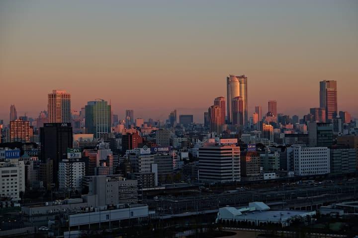 Massive 2 bedroom deluxe apartment in Tokyo! - Minato-ku - Apartment