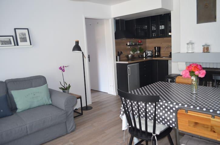 Bel appartement 3 pièces Rez-de-Jardin, WIFI - Cabourg