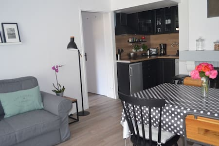 Bel appartement 3 pièces Rez-de-Jardin, WIFI - Cabourg - Pis