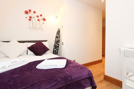 Great Double Studio Next to Hyde Park H407 - Londres - Apartamento