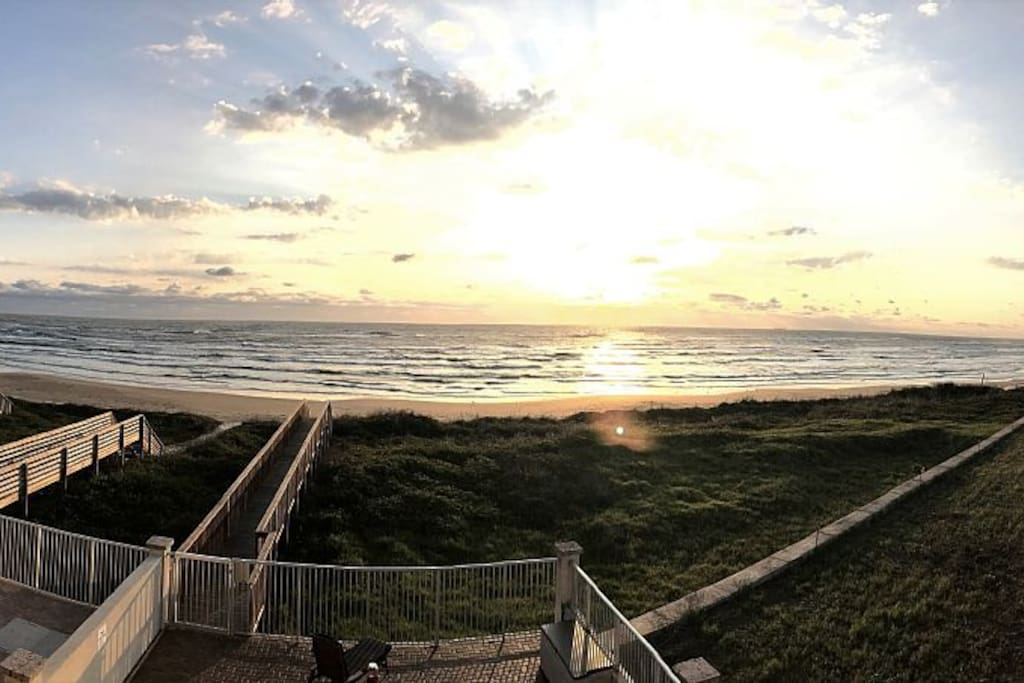 Sunrise at The Sandpiper.