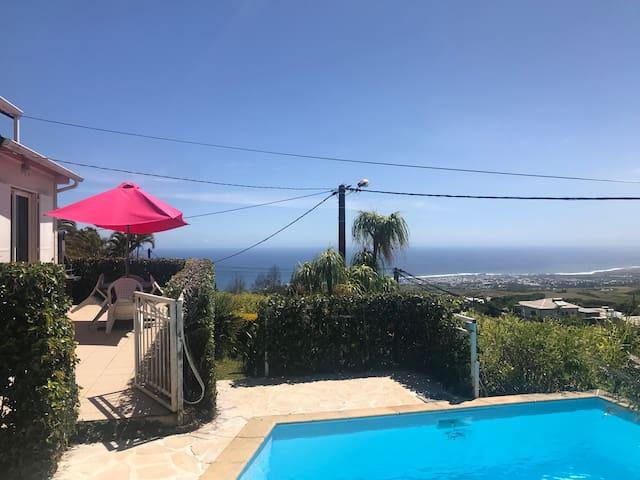 Villa with sea view in Saint-Pierre Reunion Island