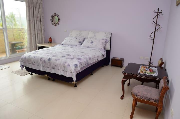 紫羅蘭房(2人含早餐)-尼泊爾之家 - Bed & Breakfast